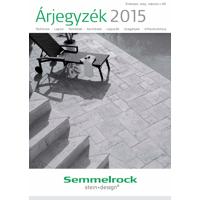 Semmelrock 2015. évi árlista