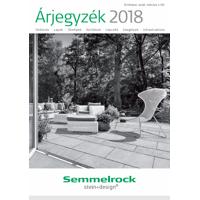 Semmelrock 2018. évi árlista